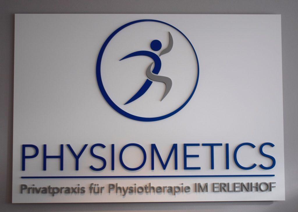 Physiometics – das Logo –Foto: Nicole Schmidt, Ahrensburg Blog